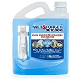 Wet & Forget No Scrub Outdoor Cleaner for Easy Removal of Mold, Mildew and Algae Stains, Bleach-Free Formula, 64 Oz. Ready to Use