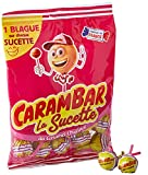 Carambar Bonbon Sucettes Caramel, 156g