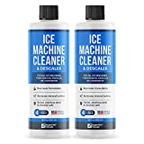 2-Pack Essential Values Ice Machine Cleaner 16 fl oz, Nickel Safe Descaler | Ice Maker Cleaner Compatible with All Major Brands - Made in USA