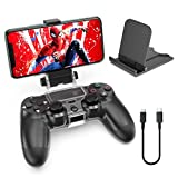 OIVO Support Telephone pour Manette PS4 avec Ajustable Support Smartphone,...
