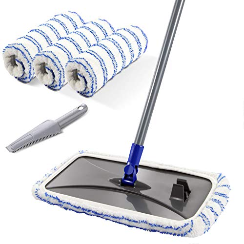 Large Surface Microfiber Flat Mop