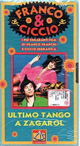VHS Ultimo tango a Zagarol con Franco & Ciccio