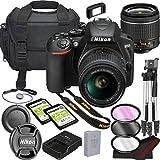 Nikon D3500 DSLR Camera Bundle with 18-55mm VR Lens | Built-in Wi-Fi|24.2 MP CMOS Sensor | |EXPEED 4...