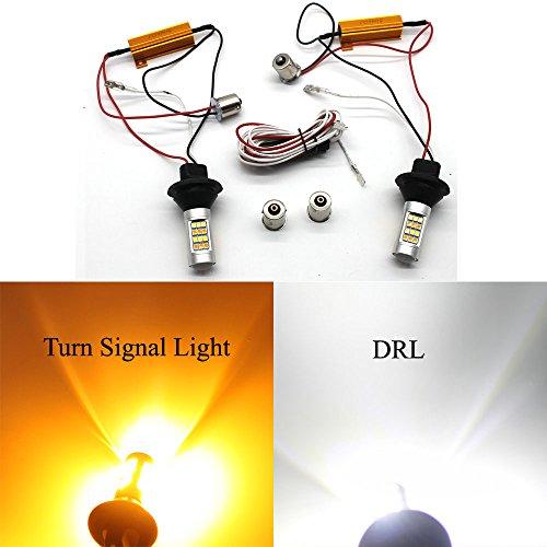 1156 BA15S indicatori di direzione led auto Luci diurne DRL 12v Super luminoso lampadine lampada led luci di stop per camper SUV auto luce di posizione