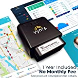 GPS Tracker for Vehicles Vyncs No Monthly Fee Real Time Tracker 1 Yr Data Plan USA+Global SIM Car Truck Tracker OBD Trips, Driver Alert, Engine Data. Teens Seniors Family Fleet. Alexa. Actvn Fee Reqd