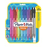 Paper Mate InkJoy 100RT Retractable Ballpoint Pens, Medium Point, Assorted, 16 Pack (1952706)