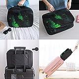 Anime Attack on Titan Bolsa de equipaje portátil de gran capacidad para mujeres y hombres se puede colgar en el maletín