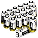 CR123A 3v Lithium Battery[UL Certified], Keenstone 18 Pack Non-Rechargeable 1600mAh Lithium Batteries for Flashlight Torch Microphones (NOT for Arlo Cameras)