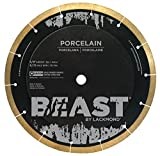Lackmond Beast Pro Porcelain Saw Blade - 10' Hard Tile Cutting Tool with Thin Kerf Cutting Edge & 5/8' Arbor - BP10