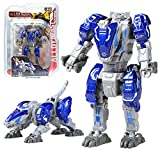 Sanggi 2 en 1 Robot Transformable, Robot en Alliage Transformers Jouet, Enfants...