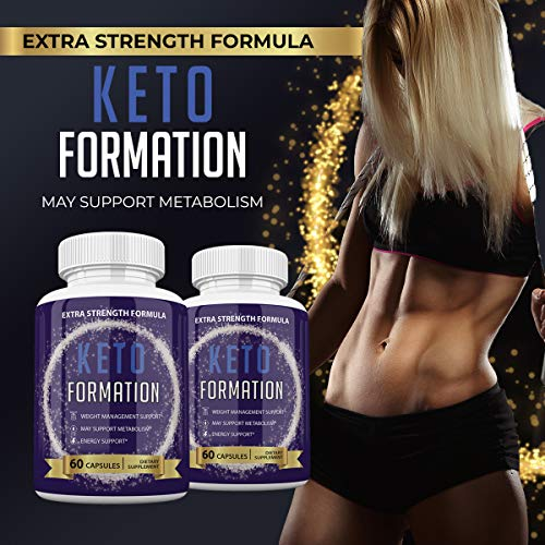 Keto Formation Extra Strength Formuila - Energy - Weight Management and Metabolism Support - 6o Capsules - 1 Month Supply 5