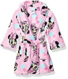 Disney Girls' Toddler Mouse Luxe Plush Robe, Forever Minnie, 2T