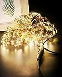 Guirlande Lumineuse 24M 240 LED USB, Litogo Dimmable Girlande de Lumière...