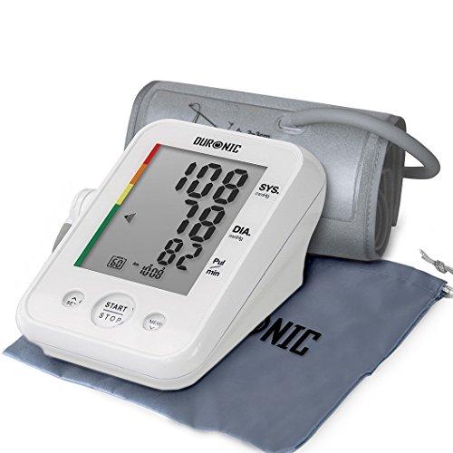 Duronic BPM150 Misuratore di pressione sanguigna automatico da braccio manicotto 22-42 cm...