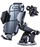 [Holder Expert] Andobil Car Phone Mount Easy Clamp, [Safe Driving & Bumpy Roads Friendly] Hands-Free Universal Dashboard Windshield Air Vent Phone Holder Car Fit for All Phones iPhone Samsung