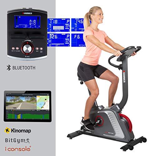 HAMMER Premium Ergometer Heimtrainer Ergo-Motion BT,...