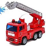 yoptote Camion de Pompier Enfant Véhicule avec Lumières Sons et Fonction de...