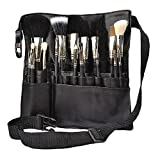 Hotrose 22 Pockets Professional Cosmetic Makeup Brush Bag with Artist Belt Strap for Women ( Brush...