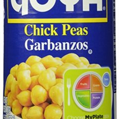 Goya Chick Peas, 6Count, 15.5 Oz