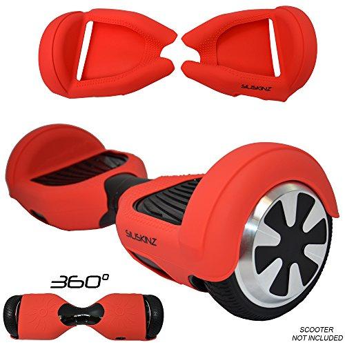 SILISKINZ® 360 GRADO CUSTODIA PER GELATINA IN SILICONE Hoverboard per 6.5 'Swegway 2 Wheel Smart...