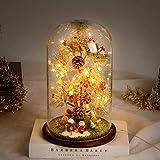 Timker Sapin De Noel Decoration Noel Petit Sapin De Noel avec des Boule De Noel Lumières LED pour Décoration Noel Deco Table Noel Idee Cadeau Homme Femme Noel