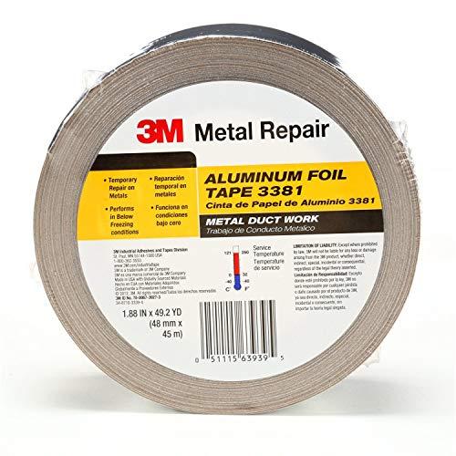 3M Aluminum Foil Tape 3381, 1.88