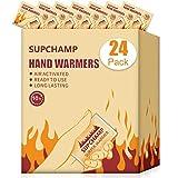 Supchamp Chauffe-Mains, 24 PCS Réchauffeurs de Gant de Poche Jetables,...