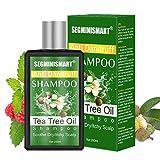 Teebaumöl Shampoo,Anti Dandruff Shampoo,Gegen Pickel auf der Kopfhau Für...