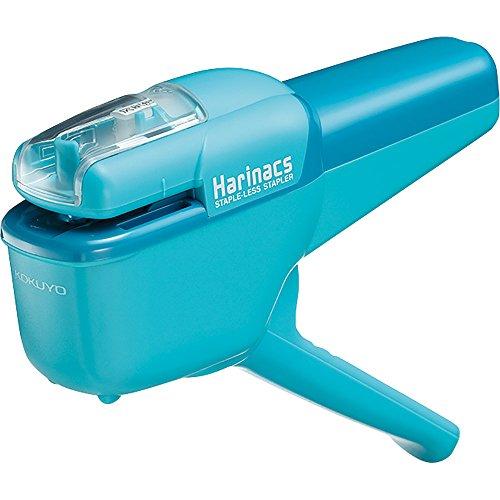 Kokuyo Harinacs Japanese Stapleless Stapler azzurro sln-msh110lb fino a 10fogli