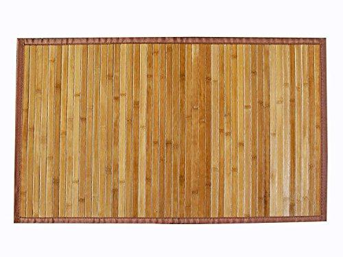 AVANTI TRENDSTORE - Dana - Tappeto in Bamboo, colore legno, disponibile in diverse misure (70x140...