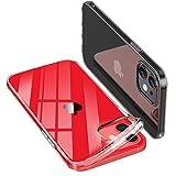 ONES 全透明 iPhone 12 mini ケース 耐衝撃 超軍用規格 〔持ちやすい、滑り止め、すり傷防止〕……