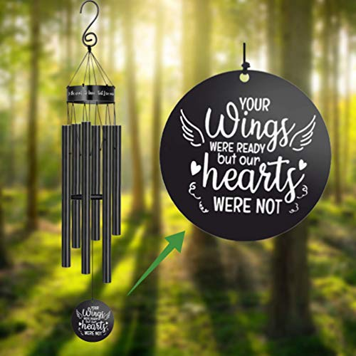 Memorial Wind Chimes for Loss of Loved One Rememberance Gifts for Loss...