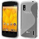 ebestStar - Coque Compatible avec LG Nexus 4 E960 Etui Housse Silicone Gel TPU...