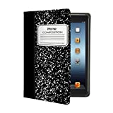 iHome | Composition Notebook - Folio Case for iPad Mini - Black