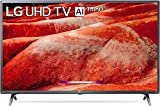 LG 108 cms (43 inches) 4K Ultra HD Smart LED TV 43UM7780PTA | With Built-in Alexa (Ceramic Black) (2019 Model)