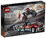 LEGO42106TechnicEspectáculoAcrobático:CamiónyMotoJuguetedeConstrucción