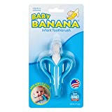 Baby Banana - Blue Banana Toothbrush, Training Teether Tooth Brush for Infant, Baby, and Toddler (BR003B)