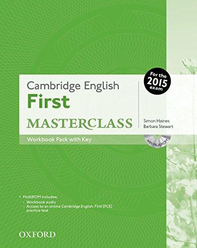 Cambridge English: First Masterclass: Cambridge English First Certificate Masterclass. Workbook with