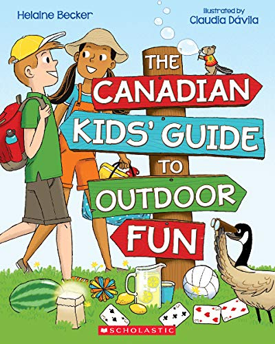 The Canadian Kids' Guide to Outdoor Fun (Paperback)