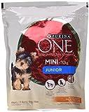 Purina ONE MINI Pienso para Perro Junior Pollo y Arroz 8 x 800 g