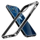 TORRAS 高耐衝撃 iPhone 12 用ケース iPhone 12 Pro 用ケース 高透明 米軍MIL規格取得 非ニュ……