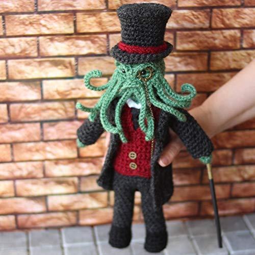 Lord Cthulhu Steampunk victorian art doll