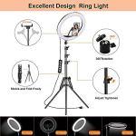 NEELTEX 10 inch Professional Big LED Ring...