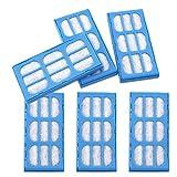 6X Filtres à Charbon Remplacement pour Purification d'eau Cartouches...