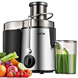"""Juicer Centrifugal Juicer Machine Wide 3"""" Feed Chute Juice Extractor Easy to Clean, Fruit Juicer..."""