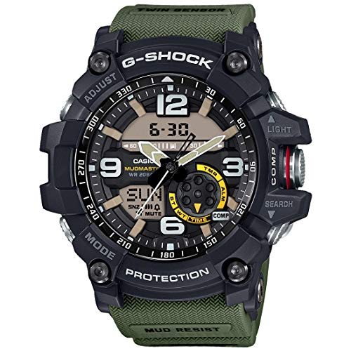 Casio Men's G-Shock GG1000-1A3 Green Rubber Japanese Quartz Sport Watch