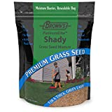 F.M. Brown's PlatinumElite Shady Grass Seed Mixture, 10 lbs. | 99.9% Weed Free, Fast-Growing Perennial Seeds for Beautiful Lawns
