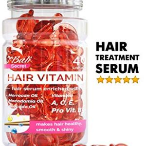 Hair Treatment Serum by Bali Secret - Improved Formula - No Need to Rinse - with Argan Macadamia Avocado Oils - Vitamins… 3