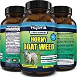Pure Horny Goat Weed Extract with Maca Powder – Energy Support – Helps Increase Drive and Stamina – Natural Supplement for Men and Women – Tongkat Ali plus L-Arginine – 60 Capsules