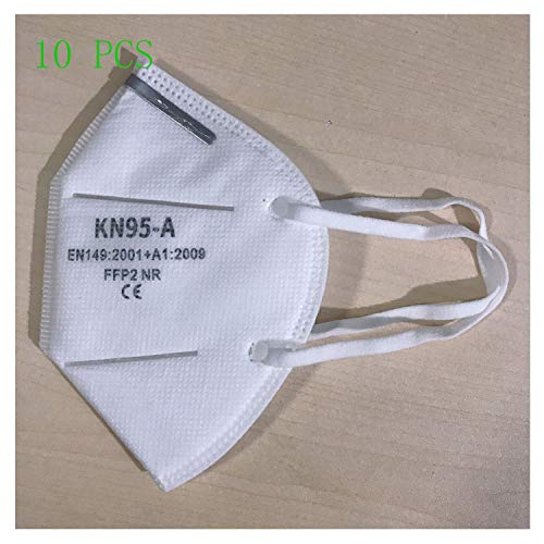 Anti-Spitting Protective Civil Dust-Proof M-a-sk f-fp-2 Dustproof Cover,Prevent Saliva Safety Face Shields(10pcs)